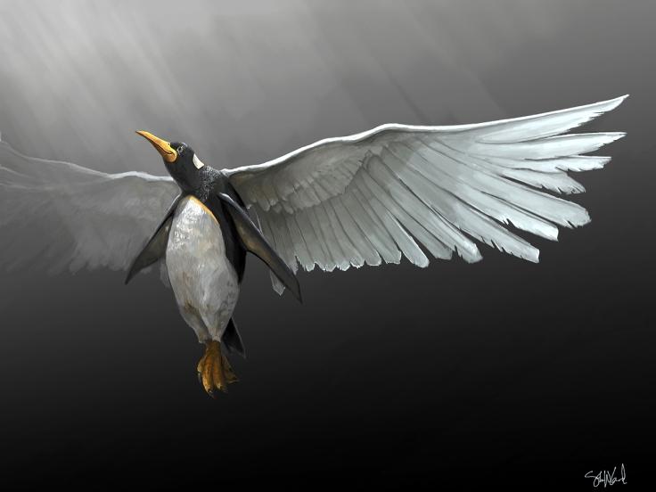 ascending_penguin_by_coolart